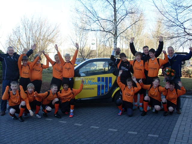 W. Minnesma Nieuwe Sponsor D3 V.V. Oudehaske
